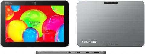 東芝、「REGZA Tablet AT700/35D...