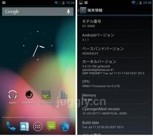 CyanogenMod10-SGS3