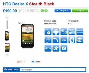 Desire-X
