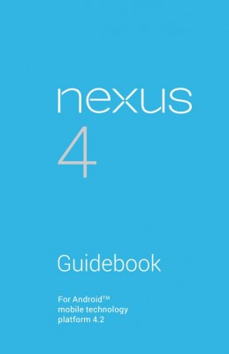 Nexus4-GuideBook