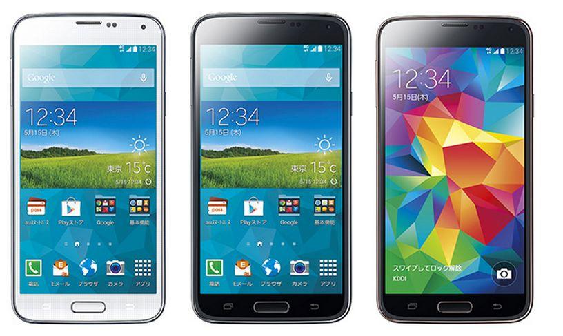 KDDI、Samsungのグローバルフラ...