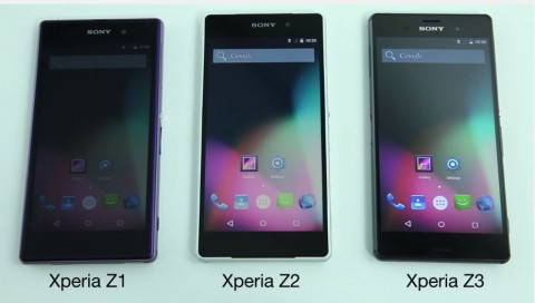 Sony Mobile、Xperia Z3、Xperia...