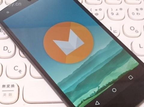 Android M デベロッパープレビュー版のイースターエッグ