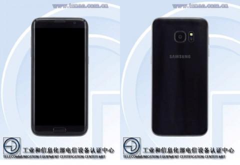galaxy s7 edgeの中国モデルにも前面の samsung ロゴがない