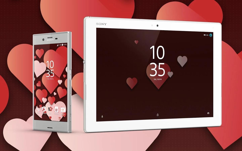 Sony Mobile バレンタインデーを記念してハートが可愛いxperia新テーマ Valentine S Theme を無料公開 Juggly Cn