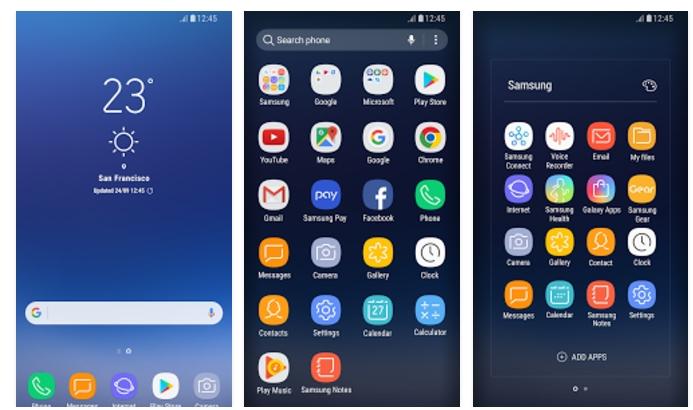 Galaxy S8 S8 Touchwiz Home Google Play