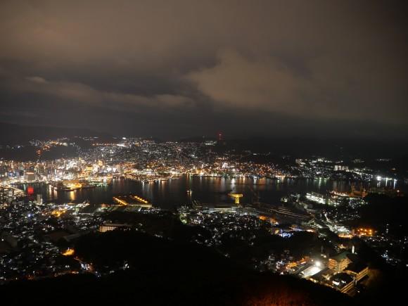 ▲ サンプルショット - 稲佐山から望む長崎市内の夜景