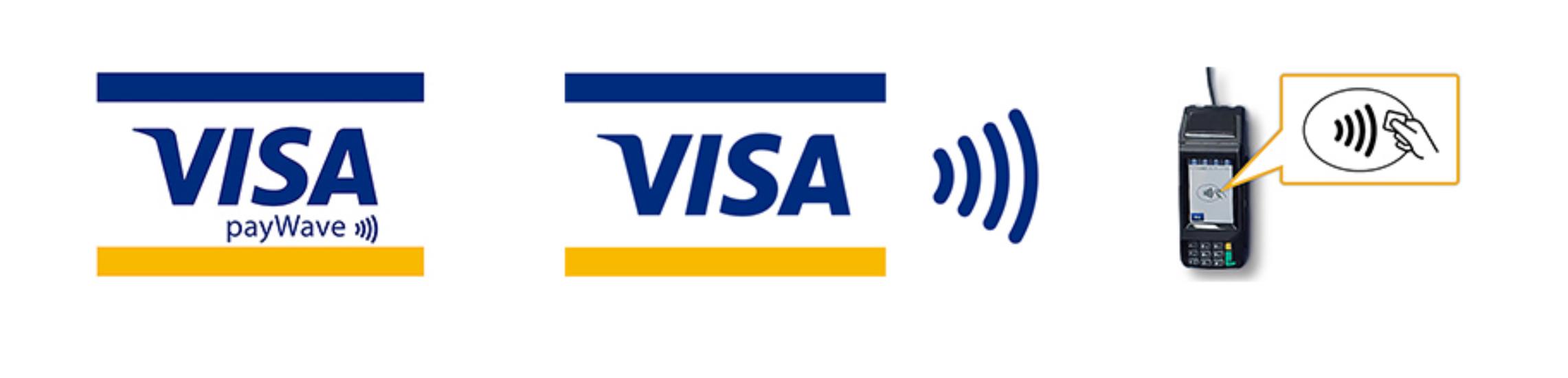 タッチ visa